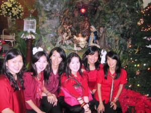 MA'ers di dpn Kandang Natal