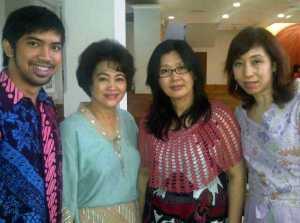 Adit, Tonsky, Fong-fong and Susyana