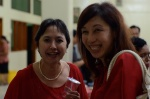 Ketua MA - Ankie Kandou (kiri) & Susyana (kanan)