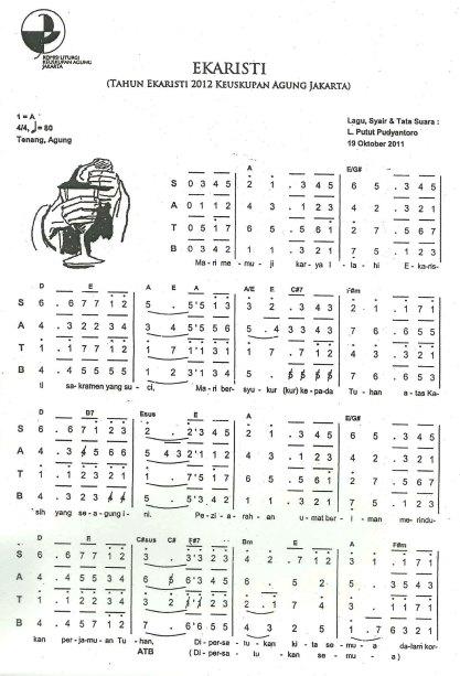 Ekaristi (Tahun Ekaristi 2012 KAJ) - Page1